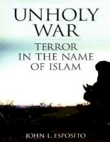 unholy war terror in the name of islam may 2002