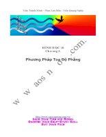 Phương pháp tọa độ mặt phẳng