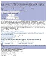 Tổng hợp các bài lý khó từ dao động điều hòa đến máy phát điện xoay chiều