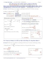 Tổng hợp bài tập vật lý hay
