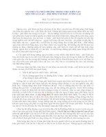 VAI TRÒ của NHÀ TRƯỜNG TRONG VIỆC KIẾN tạo một nền lí LUẬN  PHÊ BÌNH văn học TƯƠNG LAI