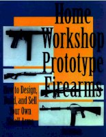 home workshop prototype firearms - bill holmes - paladin press
