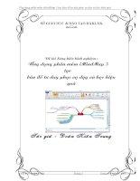 skkn ứng dụng phần mềm imindmap 5 tạo bản đồ tư duy phục vụ dạy và học hiệu quả.