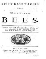 dublin society - 1733 - instructions for managing bees