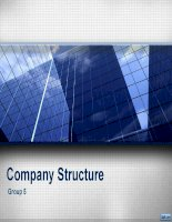 Outline môn Tiếng Anh - Company Structure
