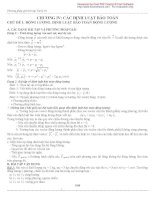 Vật lí 10 phương pháp giải các dạng bài tập cả năm ( các định luật bảo toàn)