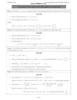 35 dạng toán liên quan đến Khảo sát hàm số -lớp 12