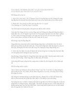 TOA THUỐC TRỊ BỆNH UNG THƯ và các LOẠI HẠCH bướu