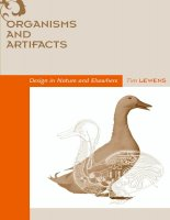 the mit press organisms and artifacts design in nature and elsewhere apr 2004