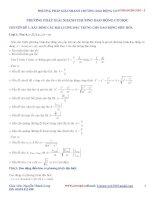 11 chuyên đề dao dộng cơ học ôn thi đại học môn vật lý