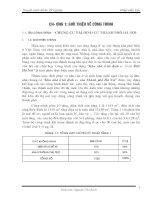Thuyết minh đồ án tốt nghiệp xây dựng dân dụng: Khu nhà ở tái định cư Hoài Đức, Hà Nội