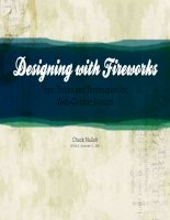 Designing with Fireworks: Tips, Tricks and Techniques for Web-Centric Design