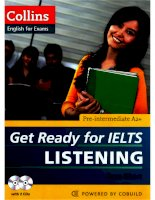Get ready for IELTS listening pre intermediate a2+ (RED)
