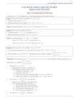 10 chuyên đề ôn thi đại học cấp tốc môn toán