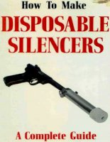 how to make disposable silencers, a complete guide - j flores