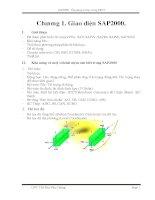 Bài giảng phần mềm sap2000