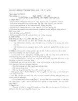 GIÁO án bồi DƯỠNG học SINH GIỎI lớp 9 (CHUYÊN đề 1)