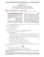 Plaxis 3D  Bài 10  Hố Móng Đào Sâu (TOP DOWNS)