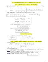 Tổng hợp các công thức giải nhanh môn sinh học trong đề thi đại học