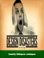 Design disasters - Justin Seeley