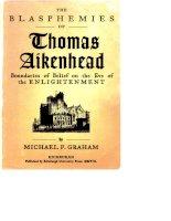 edinburgh university press blasphemies of thomas aikenhead boundaries of belief on the eve of the enlightenment nov 2008