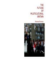 edinburgh university press the future of multicultural britain confronting the progressive dilemma oct 2008