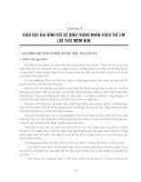 Giáo trình Giáo dục học trẻ em Tập 2: Phần 2 - Trịnh Dân, Đinh Văn Vang