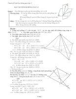 Bài tập hình học lớp 11
