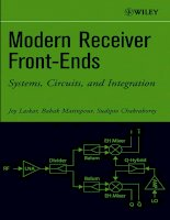 modern receiver front-ends systems, circuits, and integration