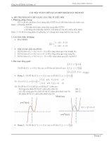 Ôn tập Khảo sát hàm số - LTĐH cấp tốc