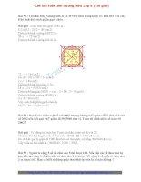 Các bài toán bồi dưỡng học sinh giỏi lớp 5 (có lời giải)