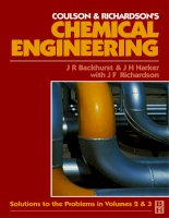 chemical engineering vol 5 coulson & richardson's
