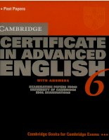 Cambridge certificate in advanced with answers   6