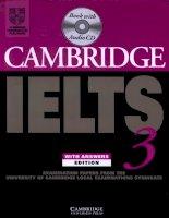 146 IELTS cambridge practice test 3