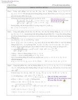 Hình học tọa độ phẳng