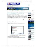 4 cách để biết địa chỉ IP của máy tính trong windows 7 và windows 8   tạp chí đánh giá của người việt