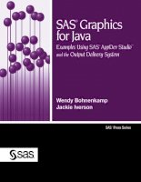 sas graphics for java examples using sas appdev studio and the output delivery system