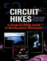 university of minnesota press 50 circuit hikes a stride-by-stride guide to northeastern minnesota mar 2002