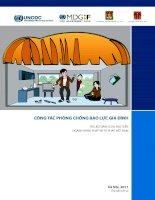 Công tác phòng chống bạo lực gia đình: Phần 1 - Nhà xuất bản Hà Nội