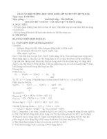 GIÁO án bồi DƯỠNG học SINH GIỎI lớp 9 (CHUYÊN đề 7,8,9,10)