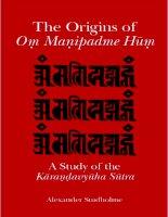 state university of new york press the origins of om manipadme hum a study of the karandavyuha sutra jul 2002