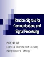 Random Signals for Communications and  Signal Processing