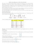 Phân tích hồi qui tuyến tính với SPSS