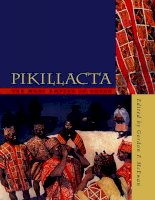 university of iowa press pikillacta the wari empire in cuzco may 2005