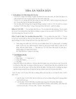 quy chế pháp lý của tòa án nhân dân