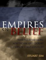empires of belief - why we need more scepticism and doubt in the 21th century