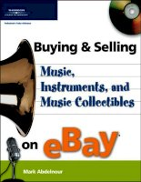buying & selling music, instruments, and music collectibles