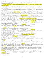CHUYÊN ĐỀ 1: CẤU TẠO NGUYÊN TỬ BẢNG TUẦN HOÀN CÁC NGUYÊN TỐ HÓA HOC LIÊN KẾT HÓA HỌC