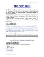 expedient homemade firearms - the zip gun