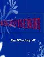 Bài giảng Đường lối cách mạng: Chương 6 - Đại học Kinh tế Quốc dân